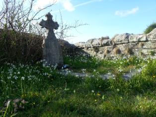 Granny Boswell's grave
