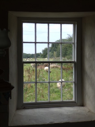 The view from the chapel window